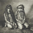 Two Thin Women, New Guinea