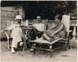 Constantin Brâncusi, Marcel Duchamp, and Mary Reynolds at Villefranche