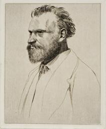 Edouard Manet, Bust-Length Portrait