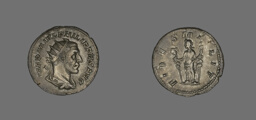 Denarius (Coin) Portraying King Philip II