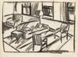 Room Drawing (study for Summer Room)
