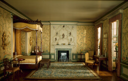 E-8: English Bedroom of the Georgian Period, 1760-75