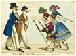Female Lancers - or A Scene in St. James's Street