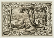 Bear Hunt, from Landscapes with Old and New Testament Scenes and Hunting Scenes