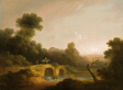 Landscape with Figures Crossing a Bridge