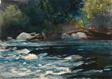 The Rapids, Hudson River, Adirondacks