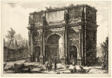 View of the Arch of Constantine, from Views of Rome