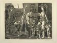 Variation on the Theme of Las Meninas: Visitors to the Studio