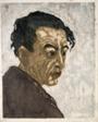 "Portrait of the Poet Hagiwara Sakutaro (1886–1942), Author of ""Ice Island"""