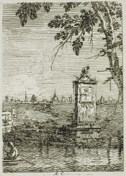 The Little Monument, from Vedute