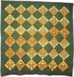 Bedcover (Basket Pattern Quilt)