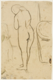 "Drawing for ""Standing Nude"""