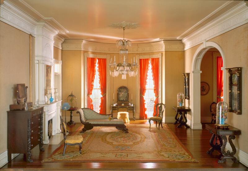 Rooms: A32: Louisiana Bedroom, 1800-50