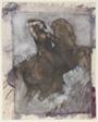 Horseman (recto); Horse and Rider (verso)