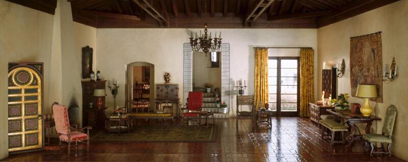 Captivating A35: California Living Room, C. 1935 1940