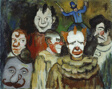 Portrait of Clowns