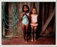 Emma and Kiara Painted to Look Like Sisters, Evanston