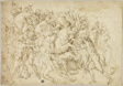 Battle between Cavalry and Foot Soldiers