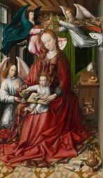 Virgin and Child Crowned by Angels
