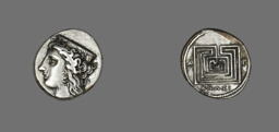 Drachm (Coin) Depicting the Goddess Hera