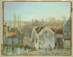 A Corner of Moret-sur-Loing