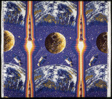 Lunar Rocket (Furnishing Fabric)