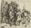 Five Landsknechte and an Oriental Man on Horseback