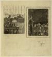 Sheet of Sketches: School Room