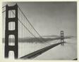 Fog under Golden Gate Bridge, San Francisco