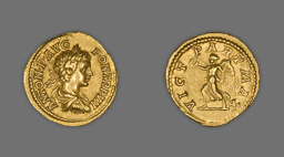 Aureus (Coin) Portraying Emperor Caracalla