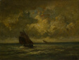Two Boats in a Storm