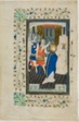 The Murder of Thomas Becket, page one, from a Book of Hours