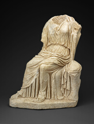 Statue of a Seated Woman