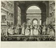 Crowning of Voltaire