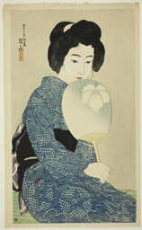 "Cotton Kimono, from the series ""New Twelve Images of Modern Beauties"""
