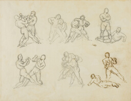 Seven Sketches of Pairs of Boxers