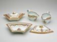 """Two Sauceboats and Two Covered Tureens from the """"Washington Memorial Service"""""""
