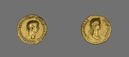 Aureus (Coin) Portraying Emperor Claudius