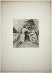 He Smothers Her, plate thirteen from Othello