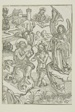 The Baptism of Christ (verso); The Circumcision of Christ (recto), pages 34 and 33, from the Treasury (Schatzbehalter)