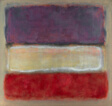 Untitled (Purple, White, and Red)