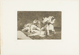 It will be the same, plate 21 from The Disasters of War