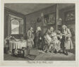Plate Six, from Marriage à la Mode