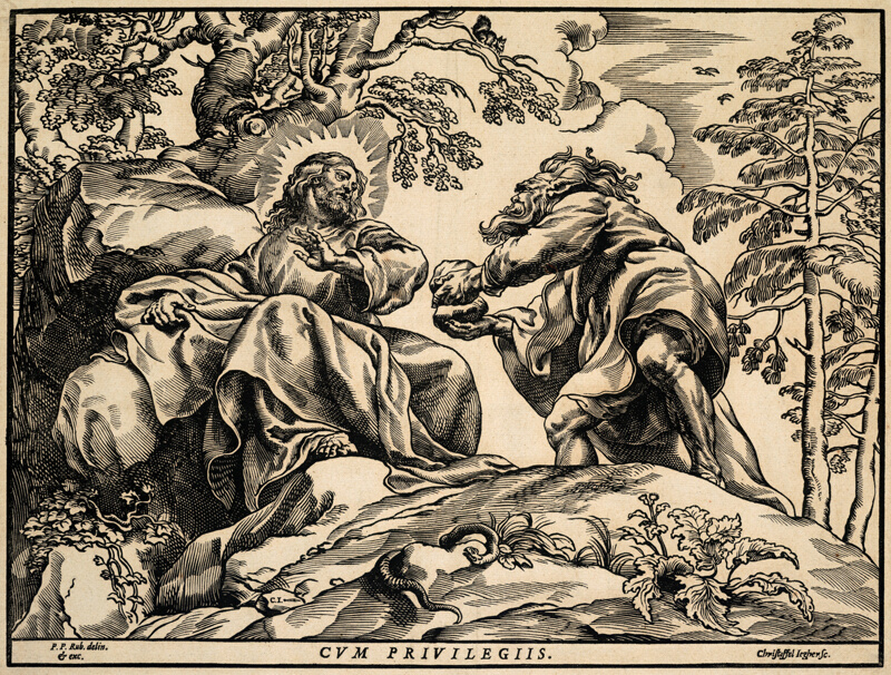 The Temptation of Christ by the Devil | The Art Institute