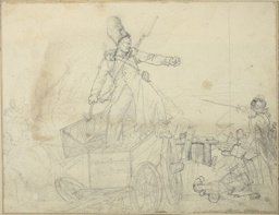 Study for Caisson d'artillerie
