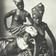 Three Dahomey Girls, One Reclining