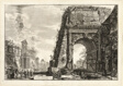 View of the Arch of Titus, from Views of Rome