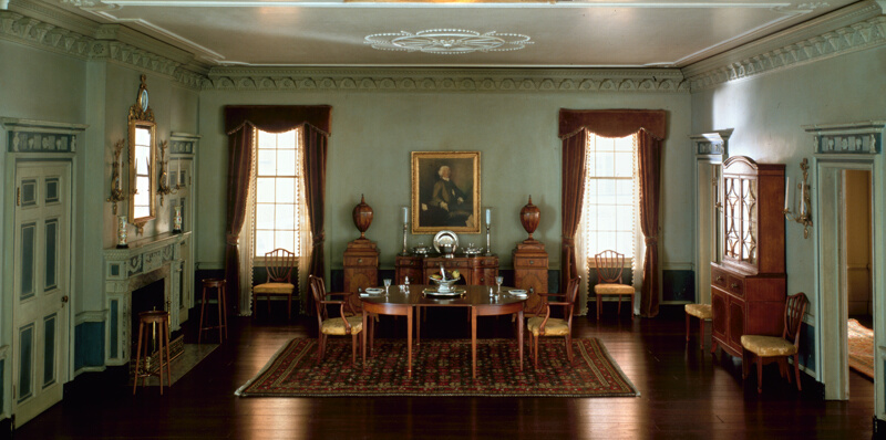 Rooms: A10: Massachusetts Dining Room, 1795