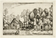 Landscape with Hewed Trees, plate seventeen after Pictures of Farms, Country Houses and Rustic Villages (Praediorum villarum et rusticarum casularum icones)