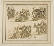 Five Sketches for the Triumph of Silenus